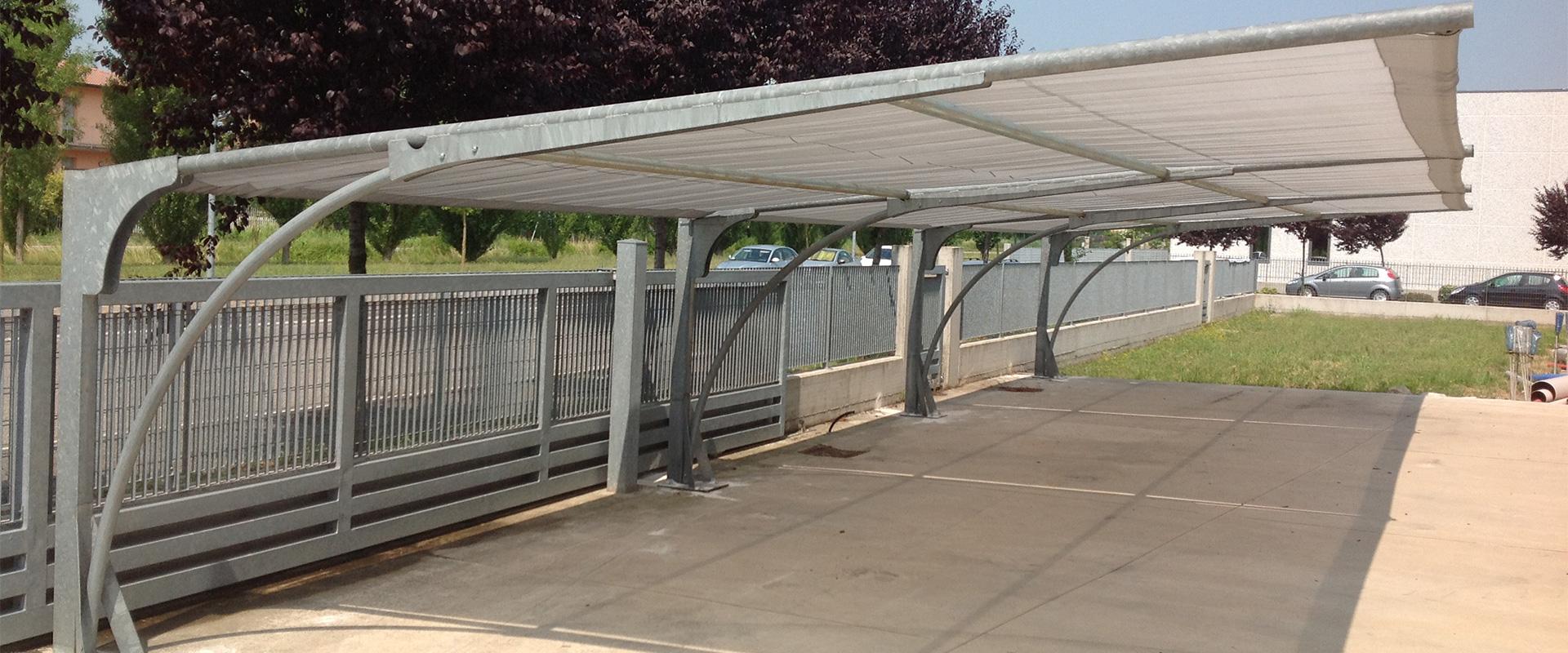 AUTOCOVER - Sistemi di copertura per auto, parcheggi ombreggianti antigrandine, tettoie, pensiline